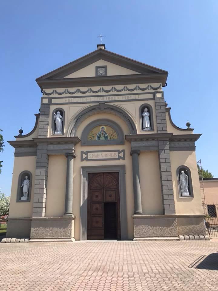 Chiesa Pianengo Tinteggiatura ai silicati Keim