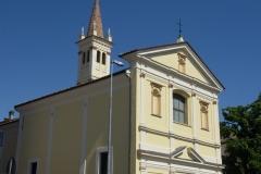 Chiesa Santa Maria delle Grazie Tinteggiatura ai silicati Keim