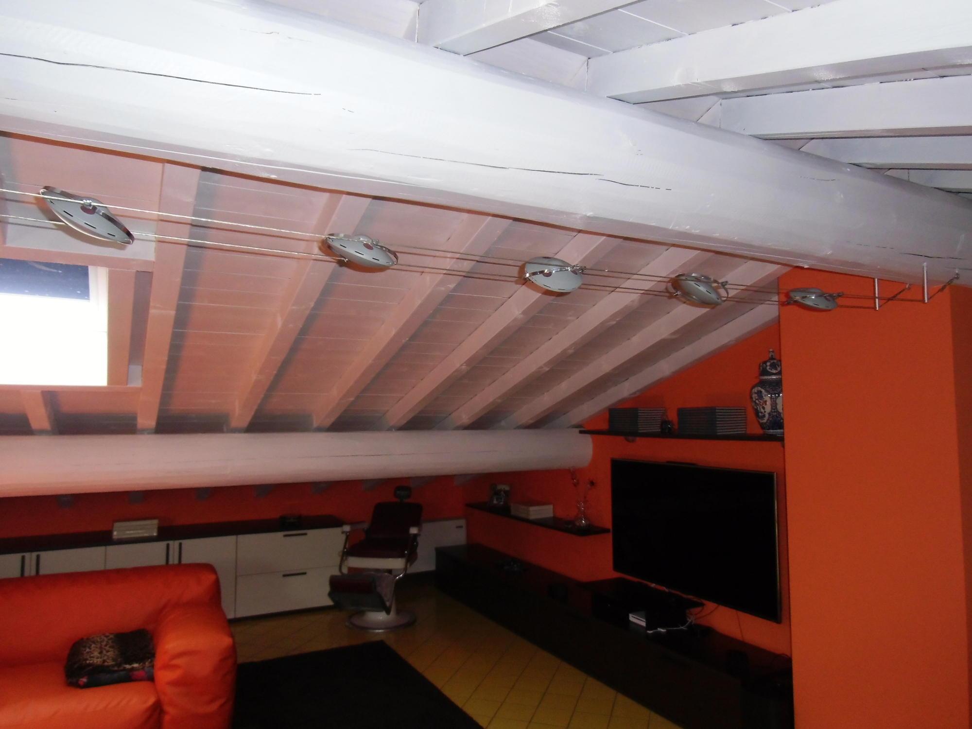 Verniciatura soffitti in legno