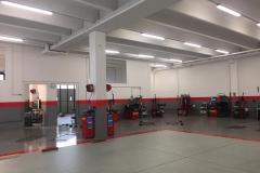 Tinteggiatura capannone e verniciatura pavimento